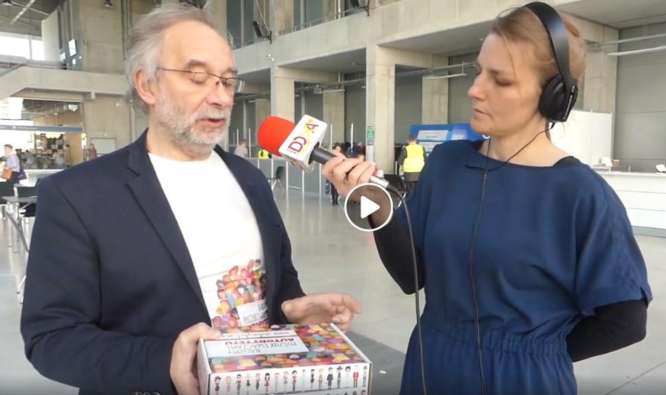 """Wywiad z Tomaszem Gubałą - prezesem Fundacji ARCHEZJA podczas Festiwalu """"Strefa Chwały"""" w Opolu"""